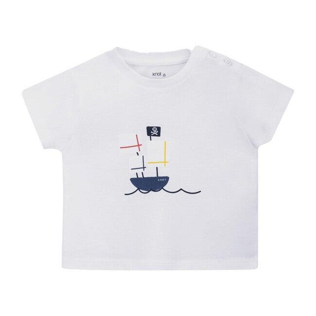 Pirate T-shirt, White