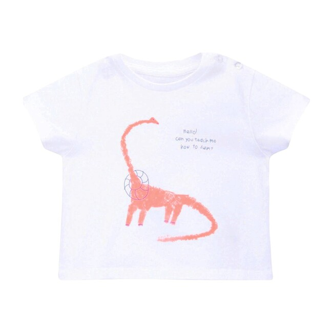 Dinosaur T-Shirt, White