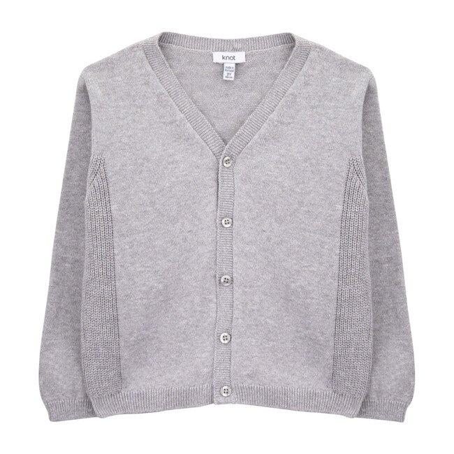 Vicent Knit Jacket, Grey