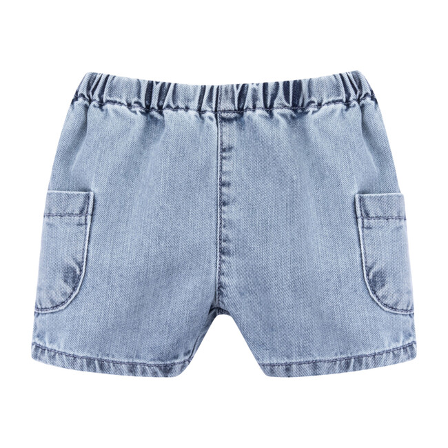 Reno Shorts, Light Denim