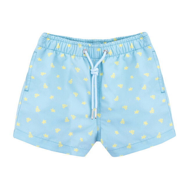 Kids Swim Shorts, Coral Reef