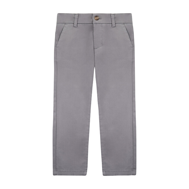 Party Trousers, High Rise Grey - Pants - 1