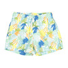 Swim Shorts, Jungle Blue - Shorts - 1 - thumbnail