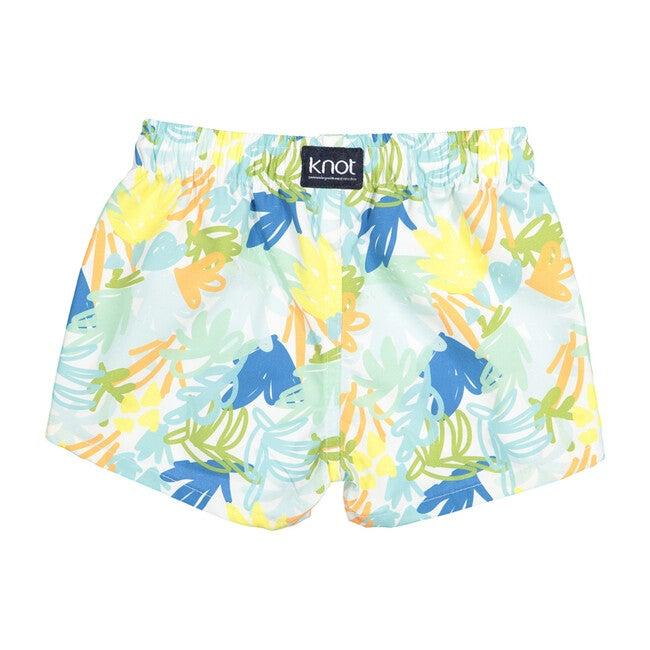 Baby Swim Shorts, Jungle Blue