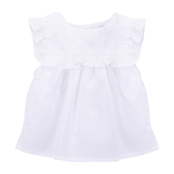 Little Knots Blouse, White