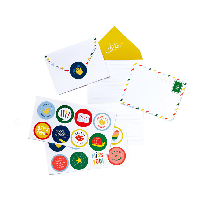 Summer Stationery Kit with Stickers