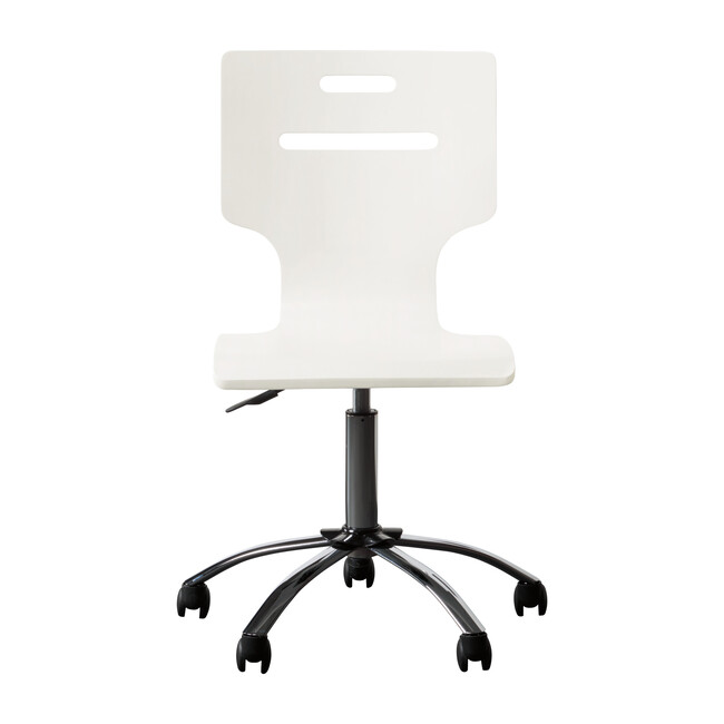 Clementine Court Desk Chair, Frosting White