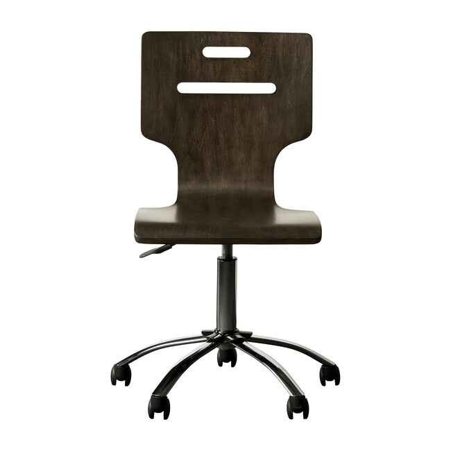 Chelsea Square Desk Chair, Raisin