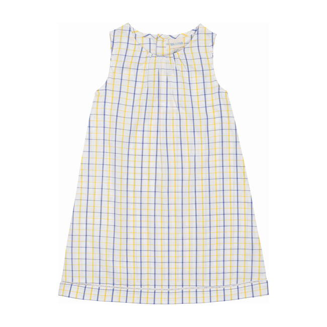 Aubrey Nightdress, Yellow/Blue