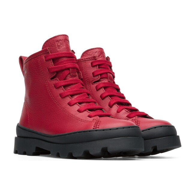 Brutus Boots, Red