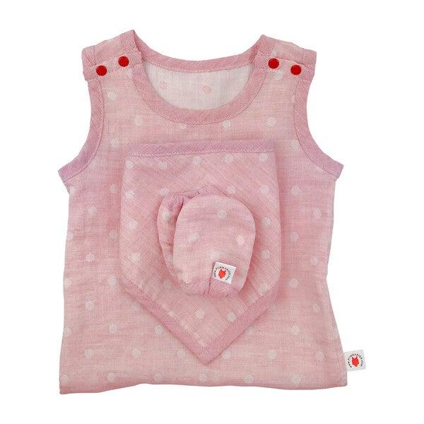 100% GOTS-Certified Organic Cotton Newborn Gift Set, Cinnamon