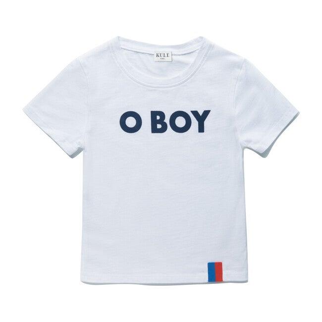 The Kids O BOY Charley, White