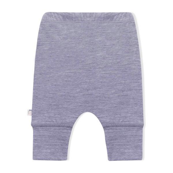 Newborn Pants, Grey Merino Wool