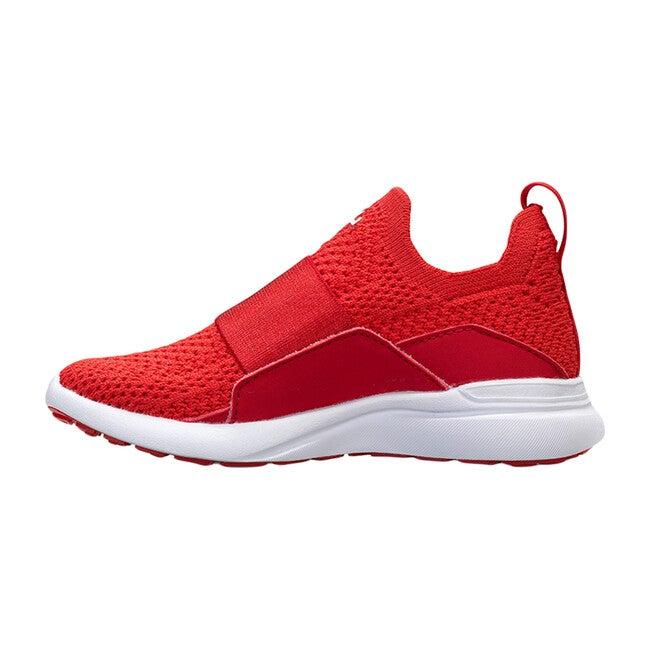 Kids TechLoom Bliss Sneaker, Red & White