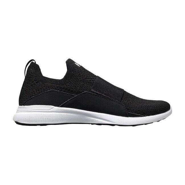 Youth TechLoom Bliss Sneaker, Black & White