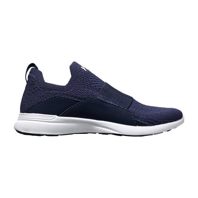 Youth TechLoom Bliss Sneaker, Navy & White