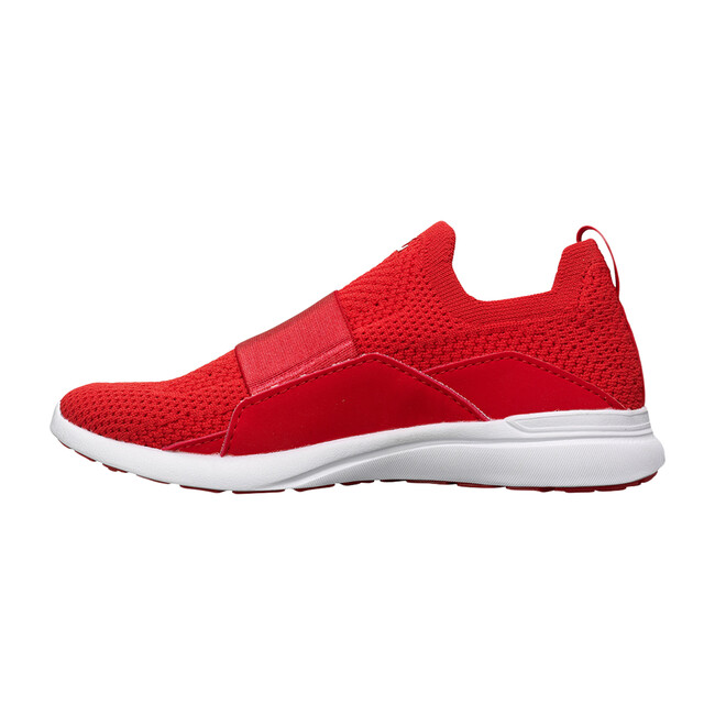 Youth TechLoom Bliss Sneaker, Red & White