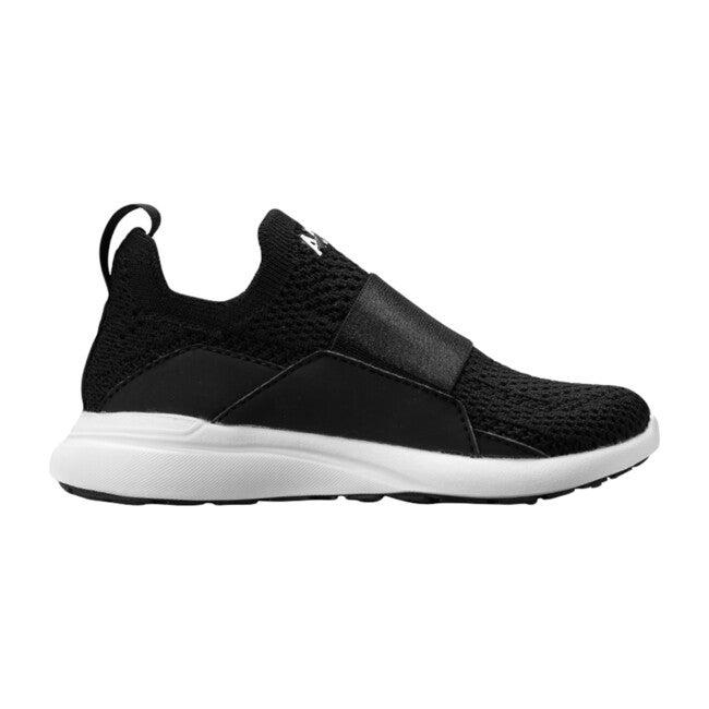 Kids TechLoom Bliss Sneaker, Black & White