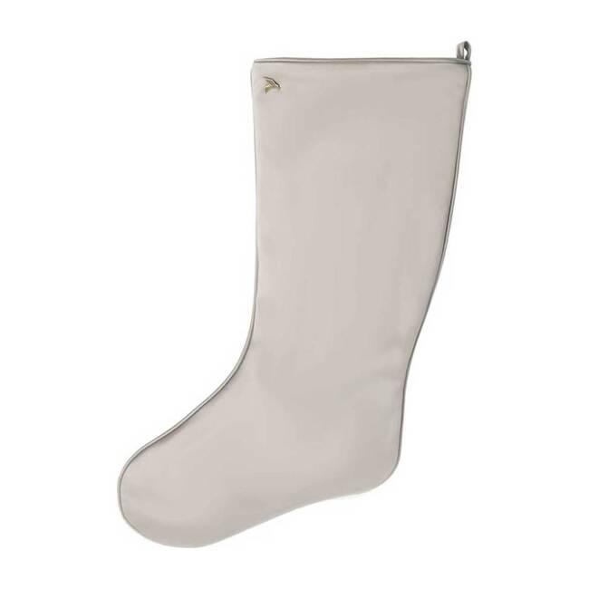 Sateen Stocking, Light Grey