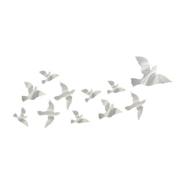 Acryllic Dove Wall Installation, 11 Count