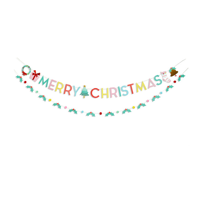 Holly Jolly Christmas Banner