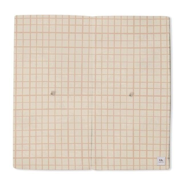 Grid Playmat, Peach