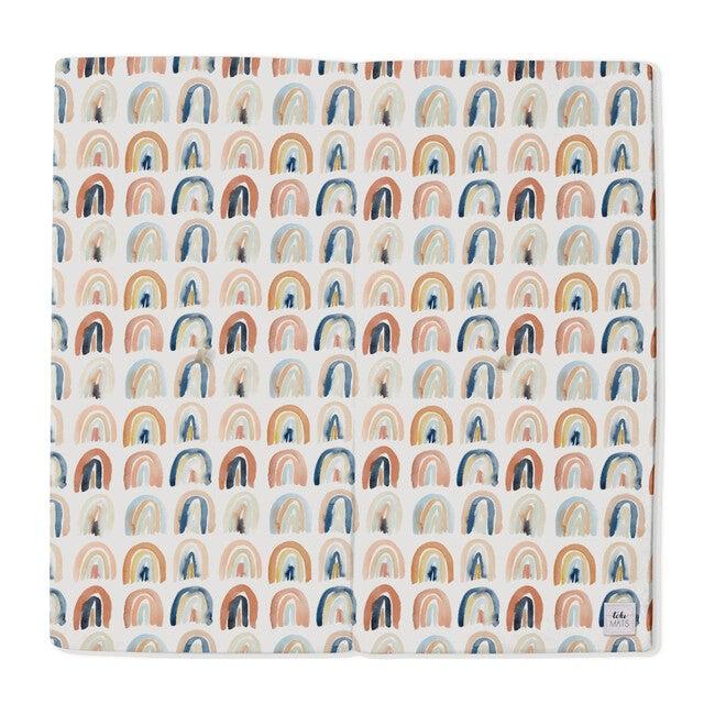 Rainbow Watercolor Playmat, Multi