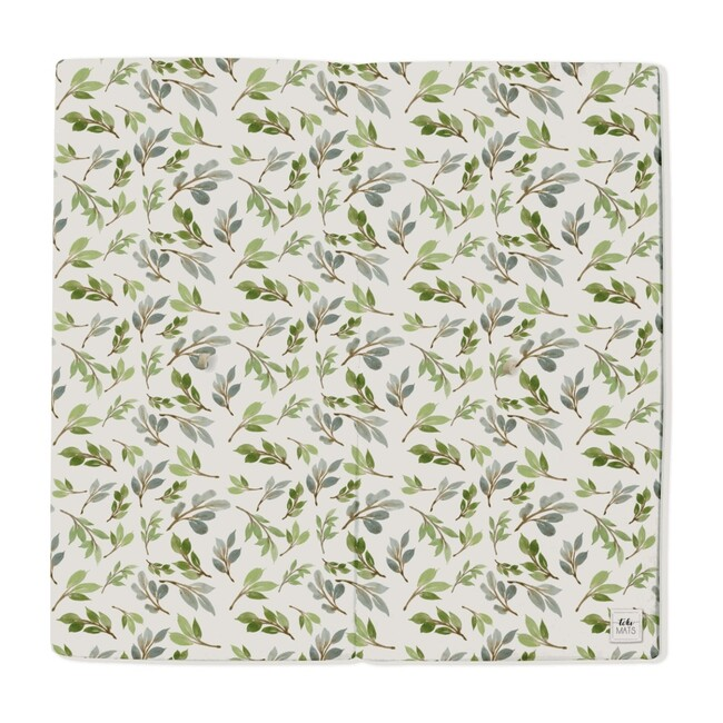 Olive Branch Playmat, Green