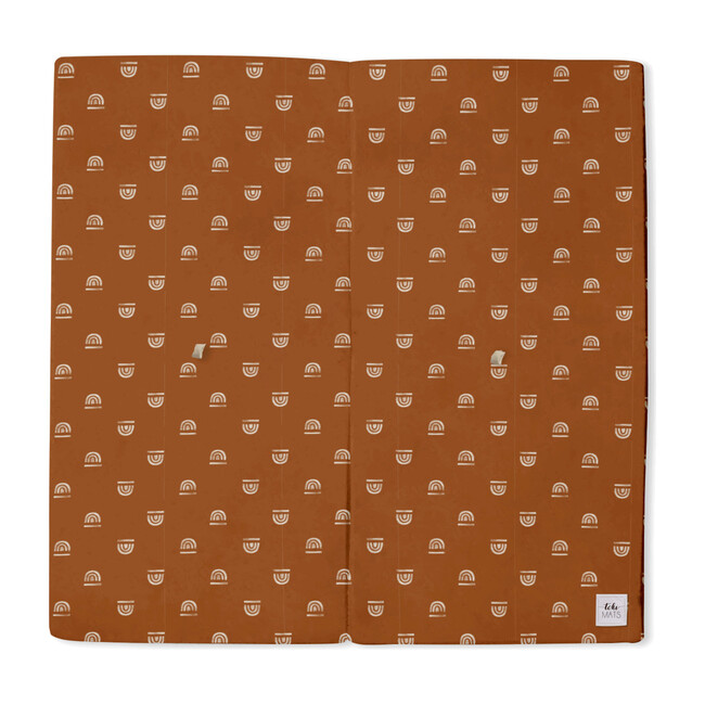 Rainbow Stamp Playmat, Rust