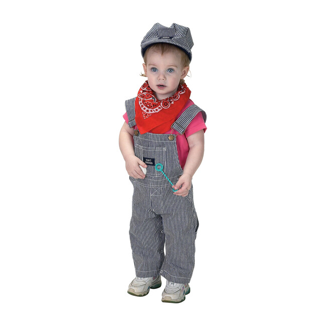 Jr. Train Engineer Suit with Cap and Bandana - Costumes - 0