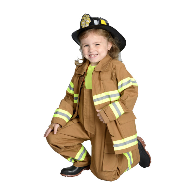 Jr. Firefighter Suit, Tan