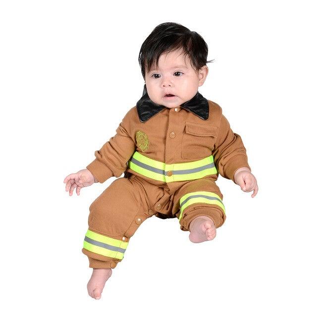 Jr. Firefighter Romper, Tan - Costumes - 0