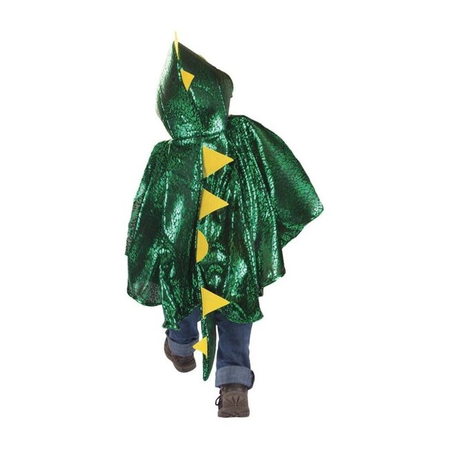 Dragon Toddler Cape, Green/Metallic - Costumes - 1