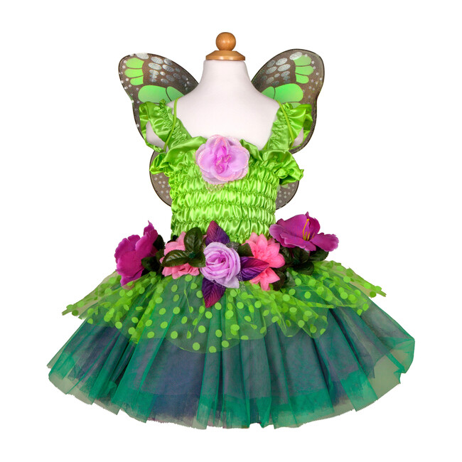 Fairy Blooms Deluxe Dress, Green