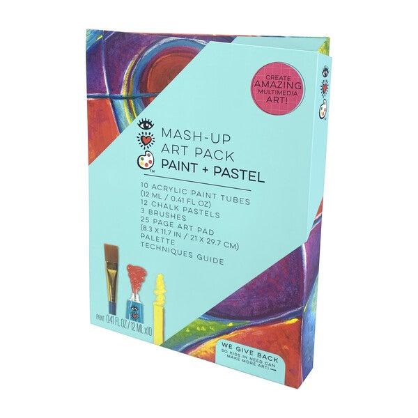Mash Up Art Pack, Paint + Pastel