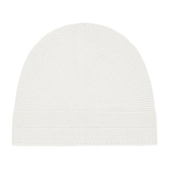 Organic Knit Hat, Ecru