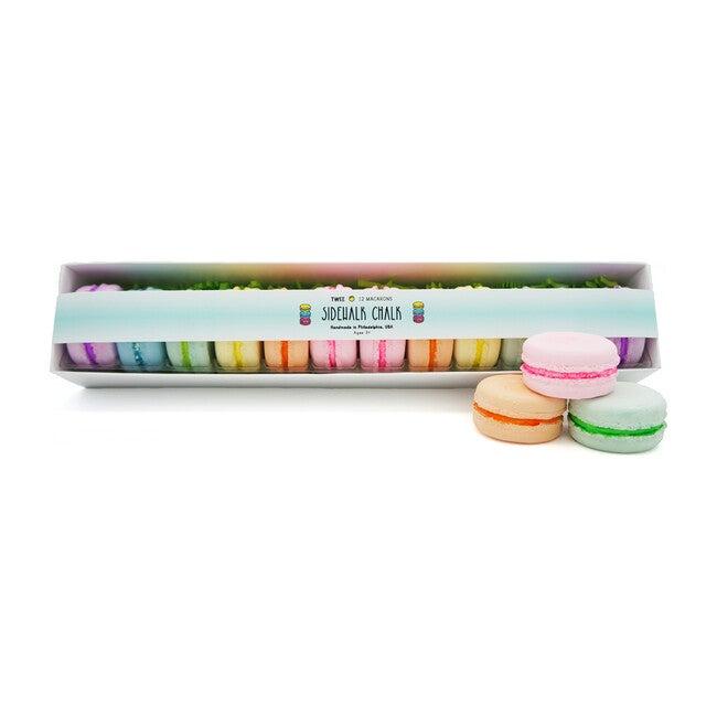 Deluxe Macaron Sidewalk Chalk Set