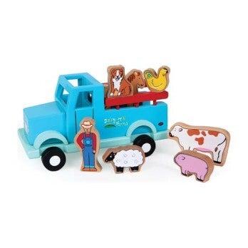 Magnetic Farm Truck