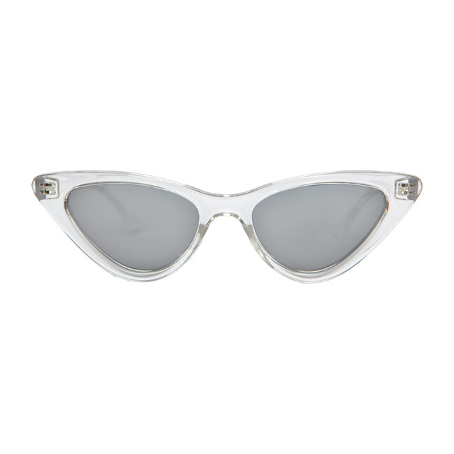 **Exclusive** Mommy Pop Sunglasses, Crystal - Sunglasses - 1