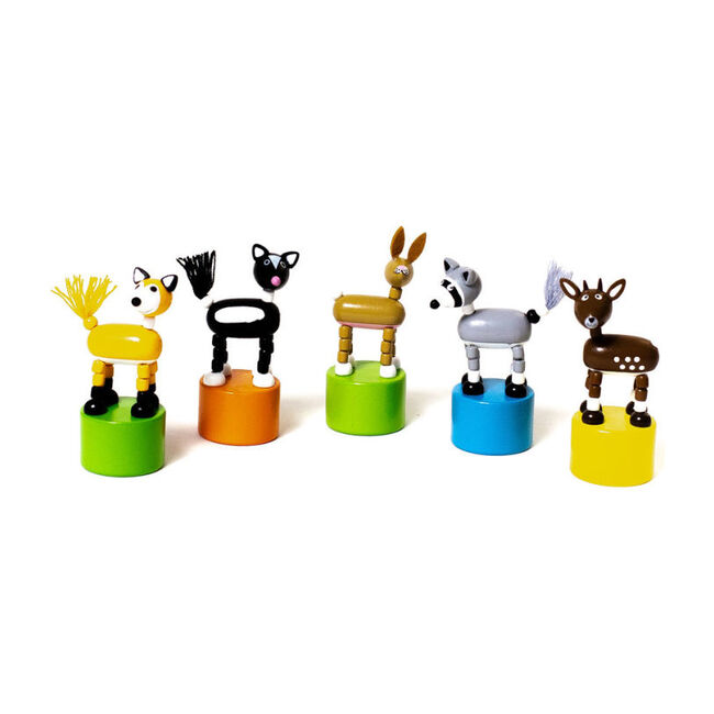 Woodland Push Puppets, Set of 5