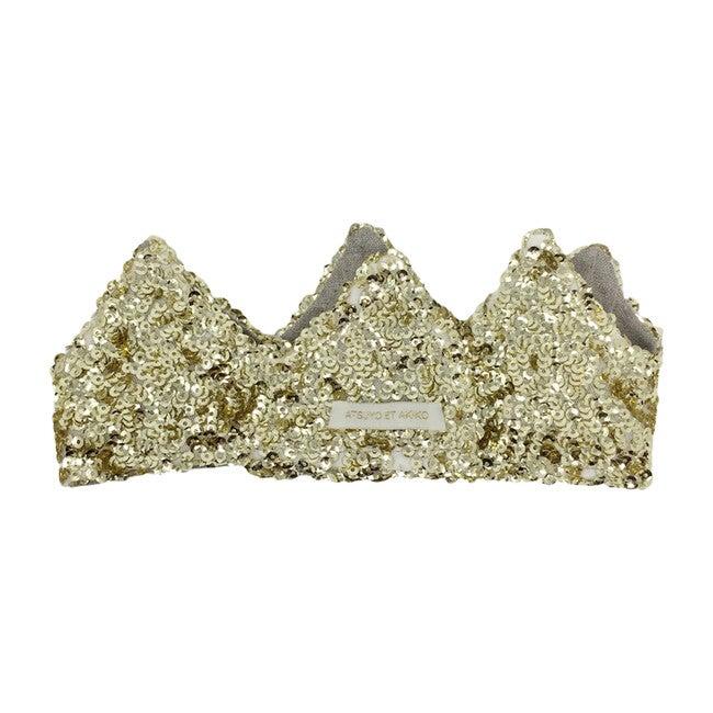 Rocky Crown Headband, Gold