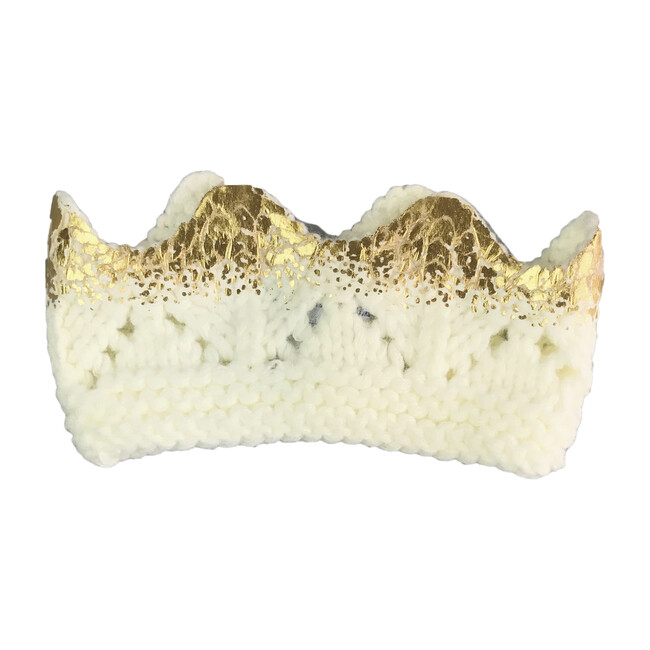 Aiden Crown, Cream and Gold