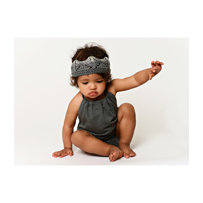 Aiden Crown, Gray and Silver