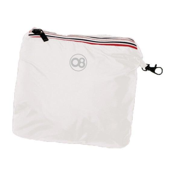 Sam Packable Rain Jacket, White