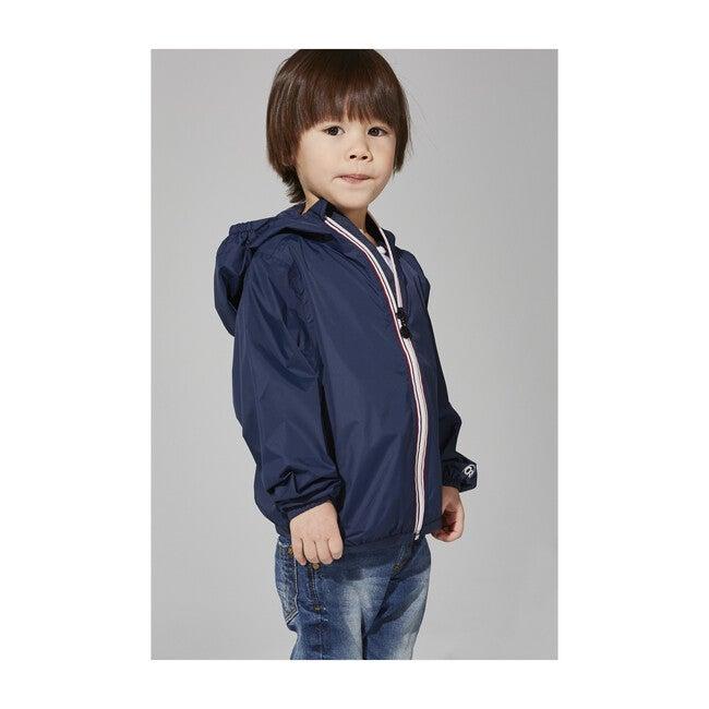 Sam Packable Rain Jacket, Navy