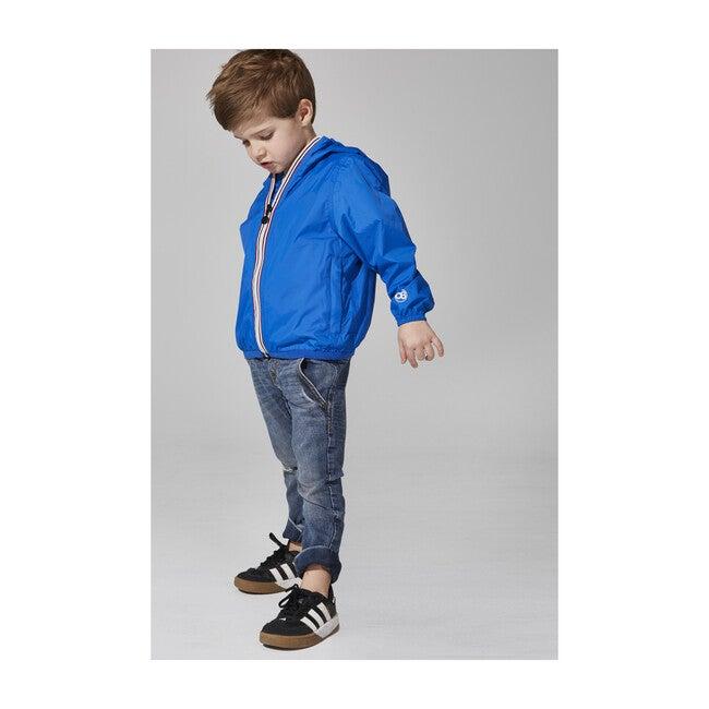 Sam Packable Rain Jacket, Royal Blue
