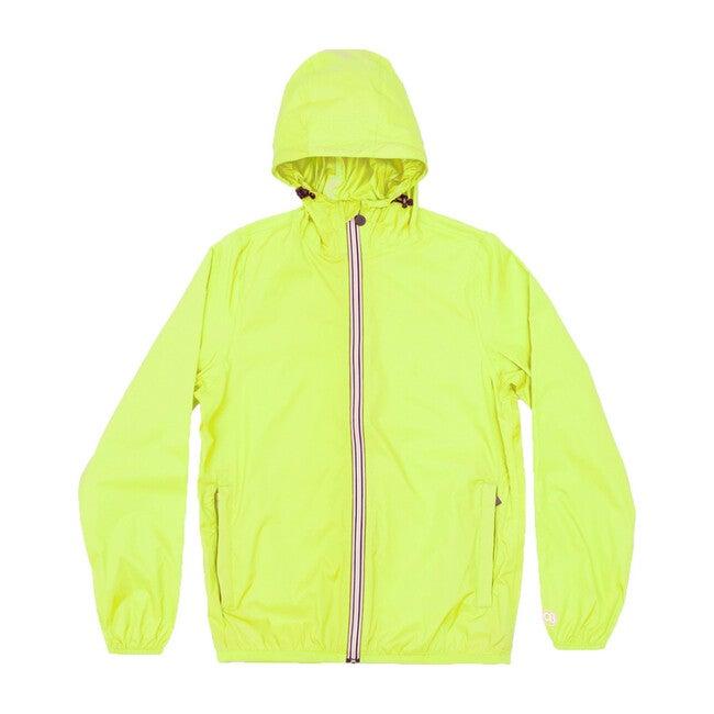 Sam Packable Rain Jacket, Citrus