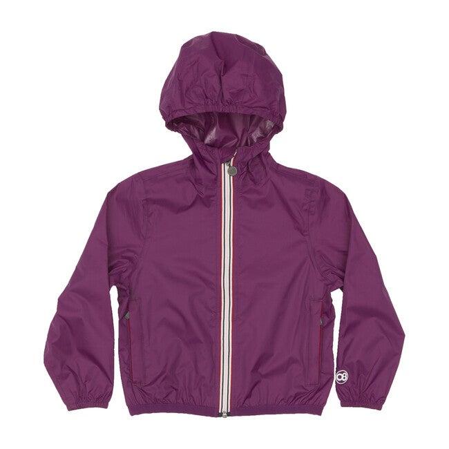 Sam Packable Rain Jacket, Grape