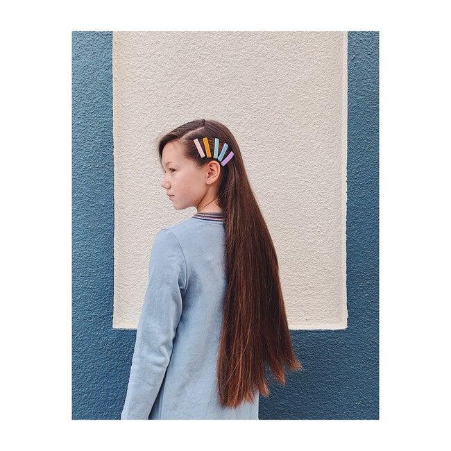 Velvet Rainbow Clips, Multi