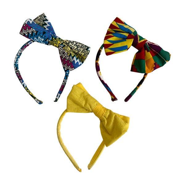 Kitana Bow Headband Bundle, 3pc